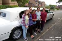 Highlight for album: 01522 595236 Lincolnshire kids party limousine hire Lincoln