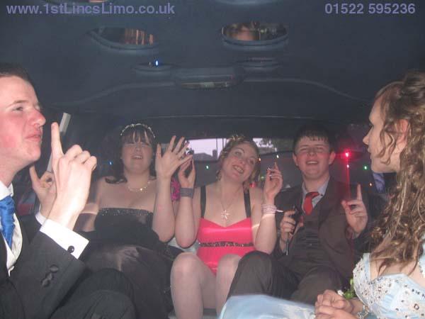 4x4 prom limo Branston