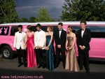 Epic center Lincoln prom limo pink