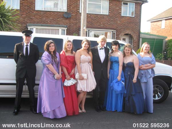 Louth prom limousine, MONKS DYKE YEAR 11 PROM
