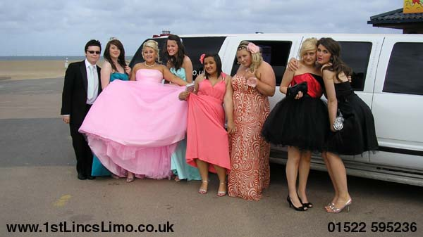 Prom limo hire Skegness
