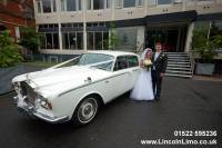 Highlight for album: 01522 595236 Lincolnshire wedding cars, Rolls Royce & limousines